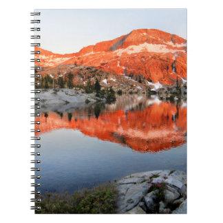 Lower Ottoway Lake Sunset - Yosemite Notebooks