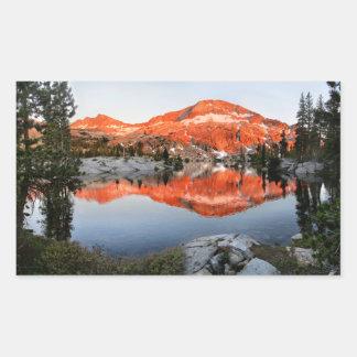 Lower Ottoway Lake Sunset - Yosemite Sticker