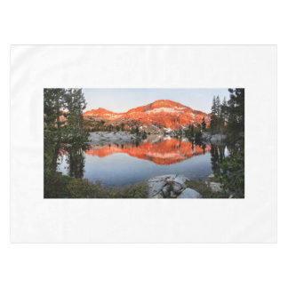 Lower Ottoway Lake Sunset - Yosemite Tablecloth