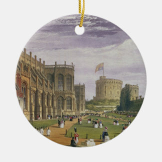 Lower Ward with a view of St George's Chapel and t Ceramic Ornament