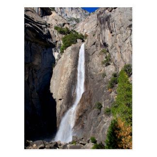 Lower Yosemite Falls from Bridge Postcard