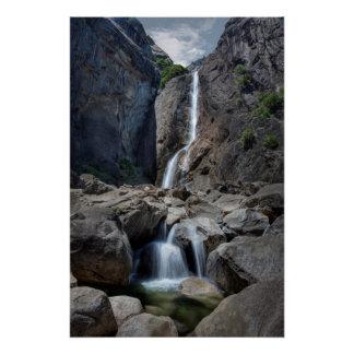 Lower Yosemite Falls Perfect Poster