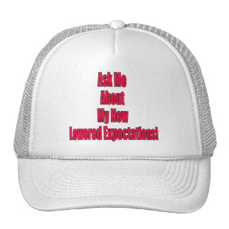 Lowered Expectations Hats