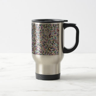 LOWEST PRICE Confetti Sparkle Template + IMG Text Travel Mug