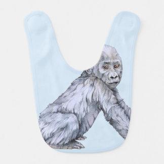 Lowland Gorilla Baby Bib
