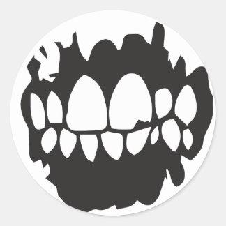 LOWLIFE - Klistermärke Classic Round Sticker