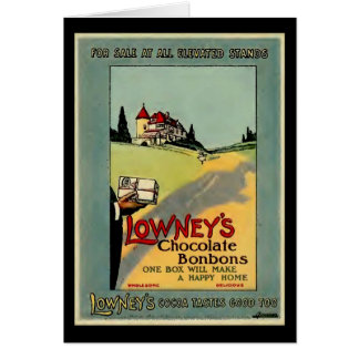 Lowney s Cocoa Cards