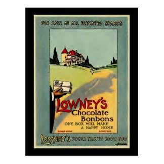 Lowney s Cocoa Postcards