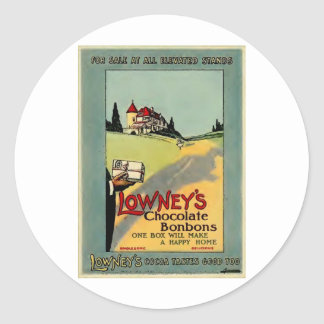 Lowney s Cocoa Stickers