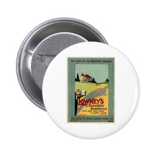 Lowney's Cocoa 2 Inch Round Button