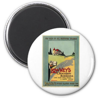 Lowney's Cocoa 2 Inch Round Magnet