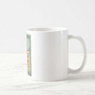 Lowney's Cocoa Classic White Coffee Mug