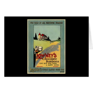 Lowney's Cocoa Greeting Card