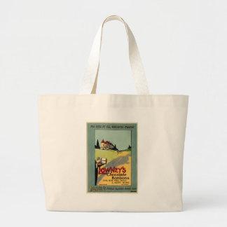 Lowney's Cocoa Jumbo Tote Bag