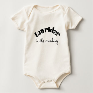 Lowrider in the Making Baby Bodysuit