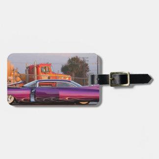 lowrider luggage tag