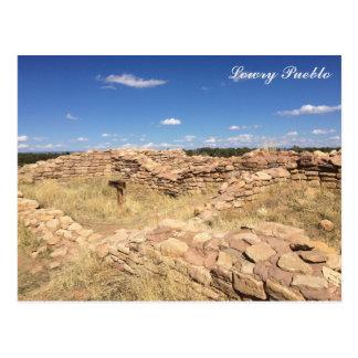 Lowry Pueblo Postcard