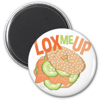 Lox Me Up 2 Inch Round Magnet