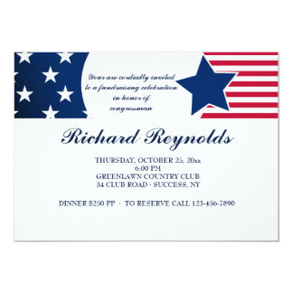 Loyal American Patriotic Invitation