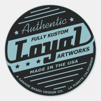 Loyal Garage sticker