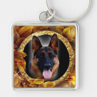 Loyal German Shepherd Keychain
