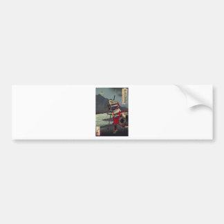 Loyal Samu - Tsukioka Yoshitosh Bumper Sticker