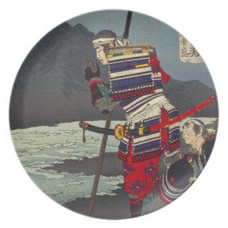 Loyal Samu - Tsukioka Yoshitosh Plate