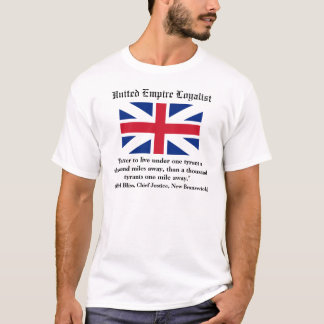 Loyaliste uni d'empire t-shirt