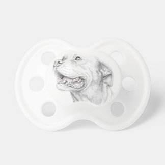 Loyalty, An American Staffordshire Terrier Baby Pacifier