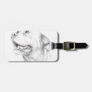 Loyalty, An American Staffordshire Terrier Bag Tag