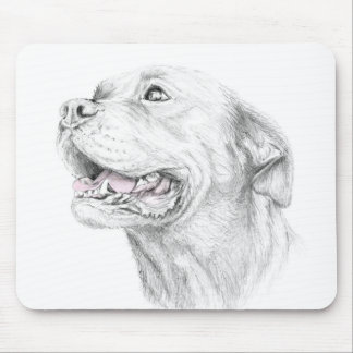 Loyalty, An American Staffordshire Terrier Mouse Pad