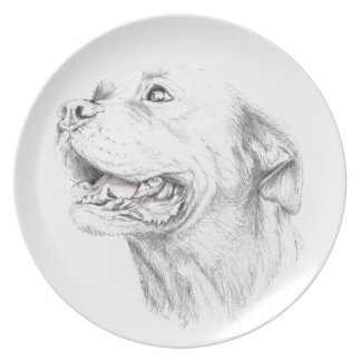 Loyalty, An American Staffordshire Terrier Plates