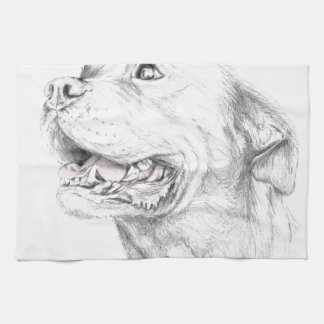 Loyalty, An American Staffordshire Terrier Towels