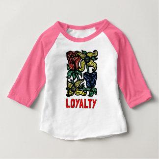 """Loyalty"" Baby 3/4 Raglan T-Shirt"