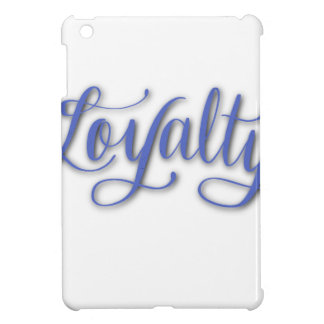 LOYALTY CALLIGRAPHY CASE FOR THE iPad MINI