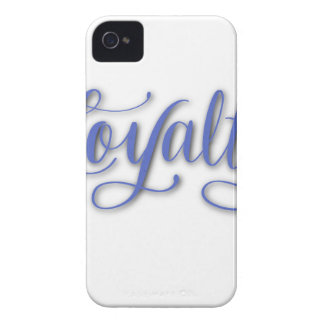 LOYALTY CALLIGRAPHY Case-Mate iPhone 4 CASE