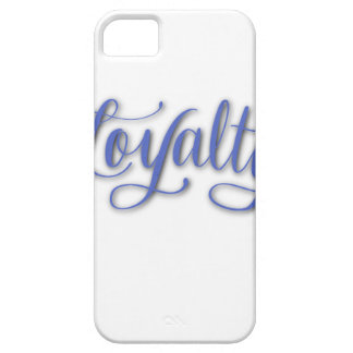 LOYALTY CALLIGRAPHY iPhone 5 COVER