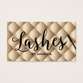 Loyalty Card | Lashes Makeup Artist Luxury Gold