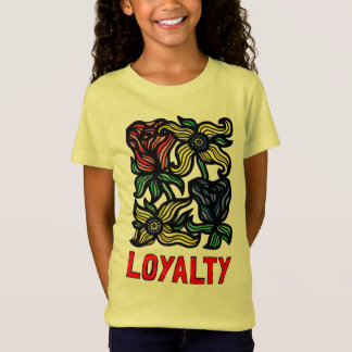 """Loyalty"" Girls' Fine Jersey T-Shirt"