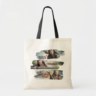 Loyalty Honor A Willing Heart Canvas Bags