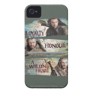 Loyalty, Honor, A Willing Heart iPhone 4 Cover