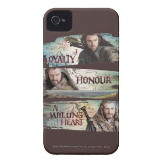 Loyalty, Honor, A Willing Heart iPhone 4 Covers