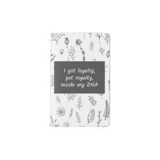Loyalty Pocket Moleskine Notebook