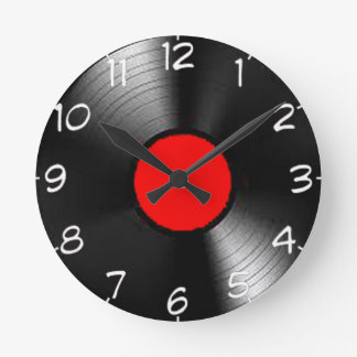 """LP Record"" design wall clocks"