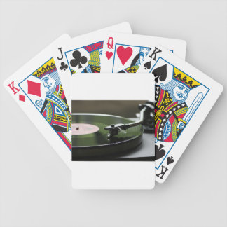 LP Record player... Bicycle Playing Cards