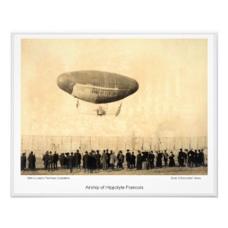 LPE01 - Airship of Hippolyte Francois Photo Print