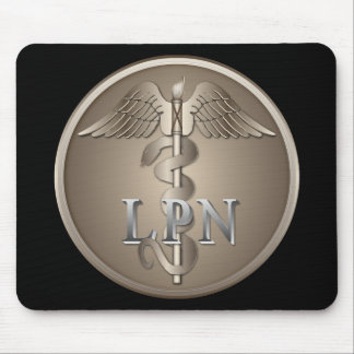 LPN Caduceus Mouse Pad