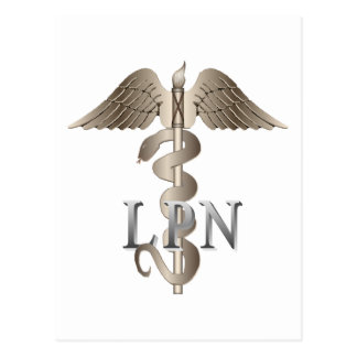 LPN Caduceus Post Cards