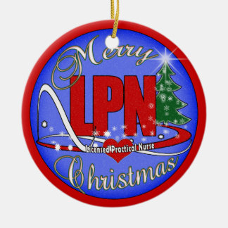 LPN CHRISTMAS ORNAMENT LICENSED PRACTICAL NURSE