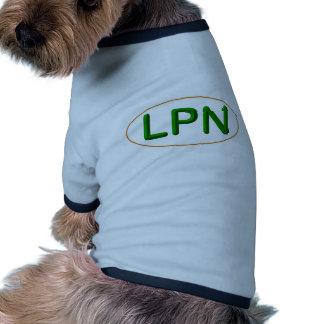 LPN green orange Dog Tee